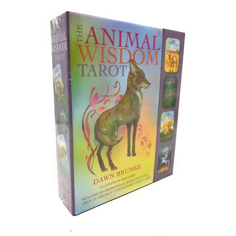 The Animal Wisdom Tarot Deck Cards Collection Box Set Mind Body Spirit Read