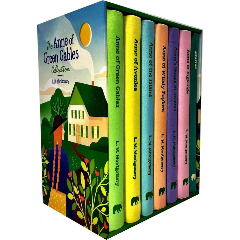 The Anne of Green Gables 7 Books Set Collection Hardcover L M Montgomery