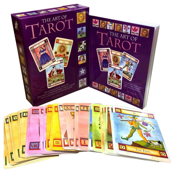 The Art of Tarot Deck Cards Collection Box Set Mind Body Spirit Psychic