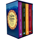 The Charles Dickens Deluxe Hardback Collection 5 Books Box Set A Christmas Carol