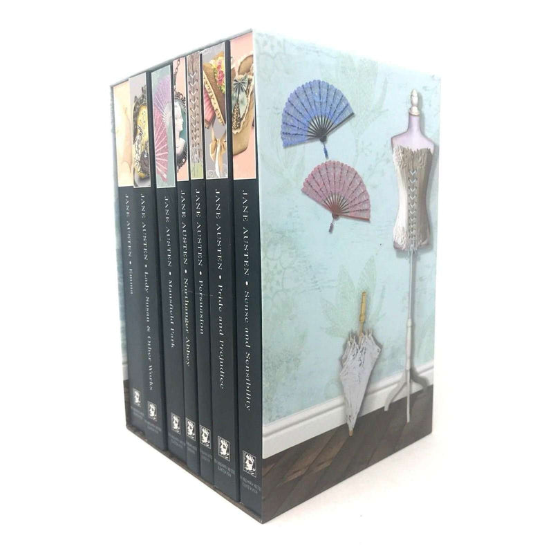 The Complete Novels Of Jane Austen 7 Books Box Set, Pride And Prejudice, Emma
