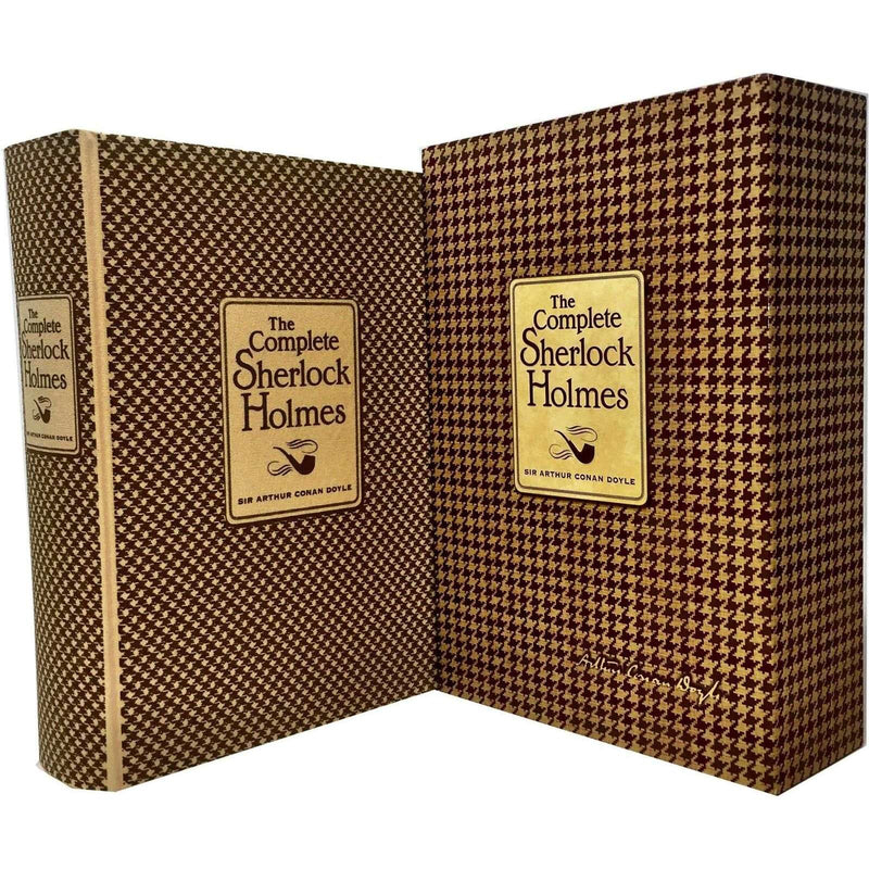 The Complete Sherlock Holmes Deluxe Hardback Editions Box Set By Arthur Conan Doyle