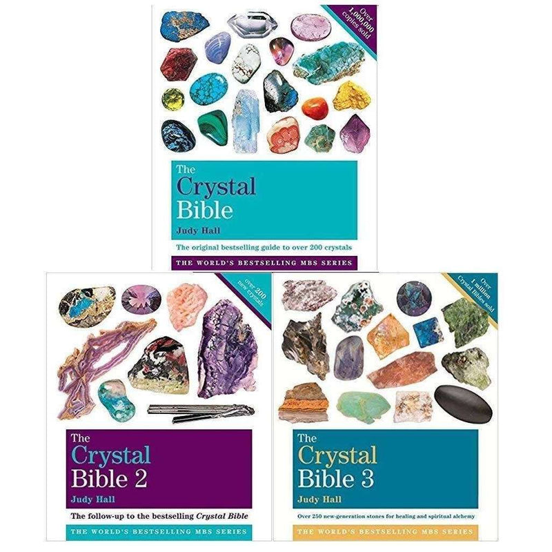 The Crystal Bible Vol 1-3 Collection 3 Books Set By Judy Hall
