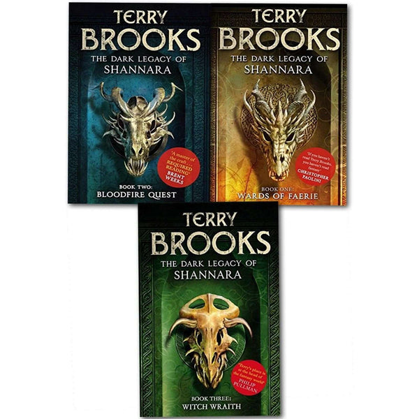 The Dark Legacy of Shannara Series 9 Terry Brooks 3 Books Collection Set