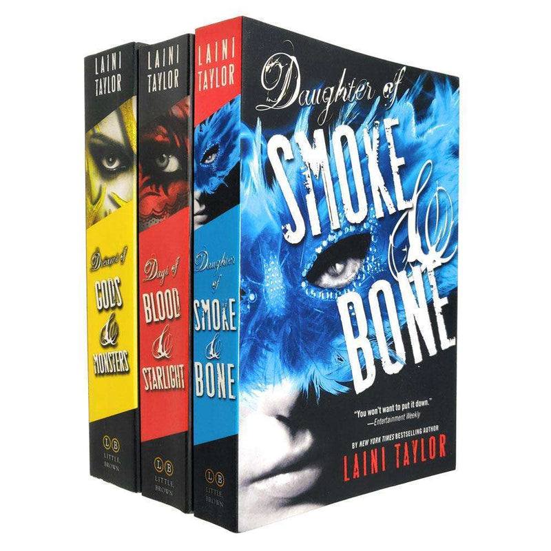 The Daughters of Smoke and Bone Trilogy 3 Collection Books Laini Taylor