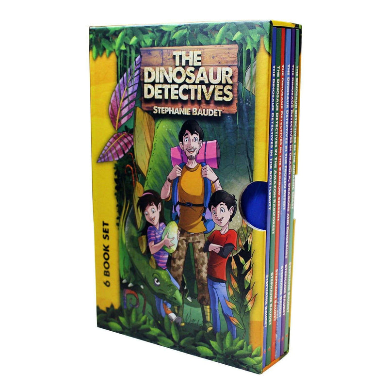 The Dinosaur Detectives Collection 6 Books Box Set-The Frozen Desert, Rainbow