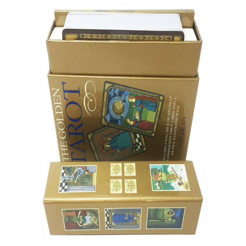 The Golden Tarot Deck Cards Collection Box Set Mind Body Spirit Read