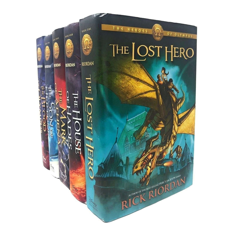 The Heroes of Olympus 5 Books Set Collection (Vol 1-5) Rick Riordan Hardback