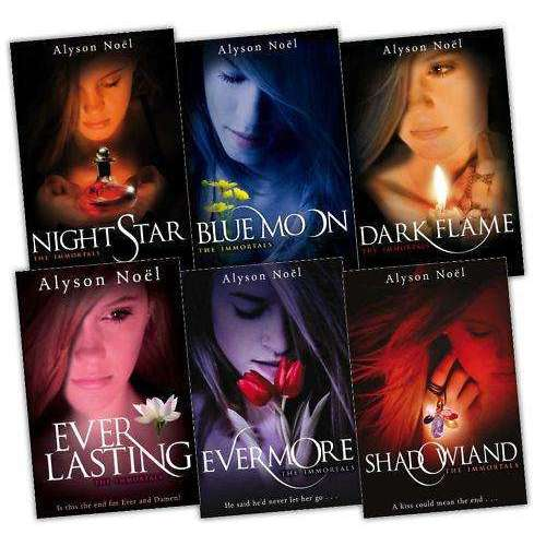 The Immortals Series 6 Books Collection Set