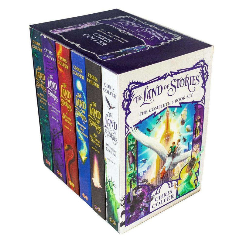 The Land Of Stories 6 Books Series Collection Deluxe Box Set - Chris Colfer