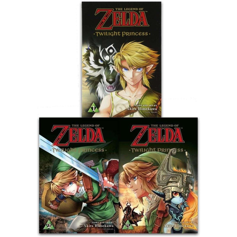 The Legend of Zelda 3 Book Set Collection Akira Himekawa Twilight Princess