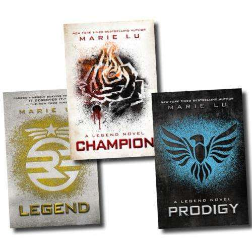 Marie Lu The Legend Trilogy 3 Books Collection Set Legend Prodigy Champion