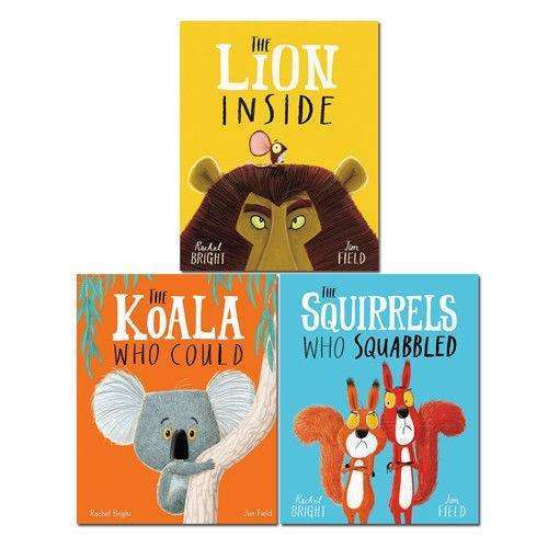 The Lion Inside And Other Animal Tales 3 Book Set Collection Pack Rachel Bright