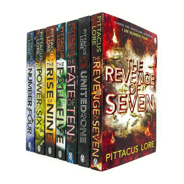 The Lorien Legacies Series By Pittacus Lore 7 Books Collection Set