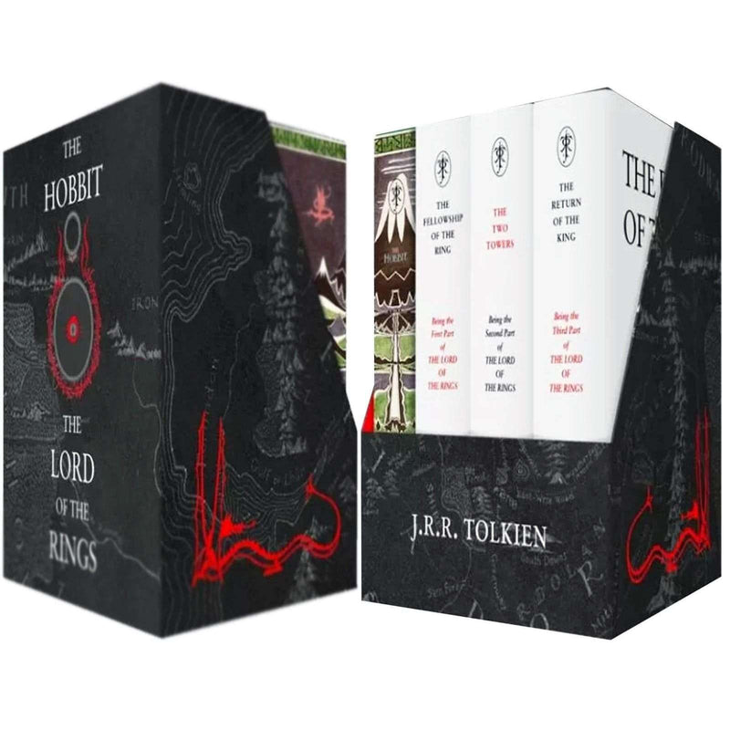 The Middle-earth Treasury Collection 4 Books Box Set By J. R. R. Tolkien Hobbit