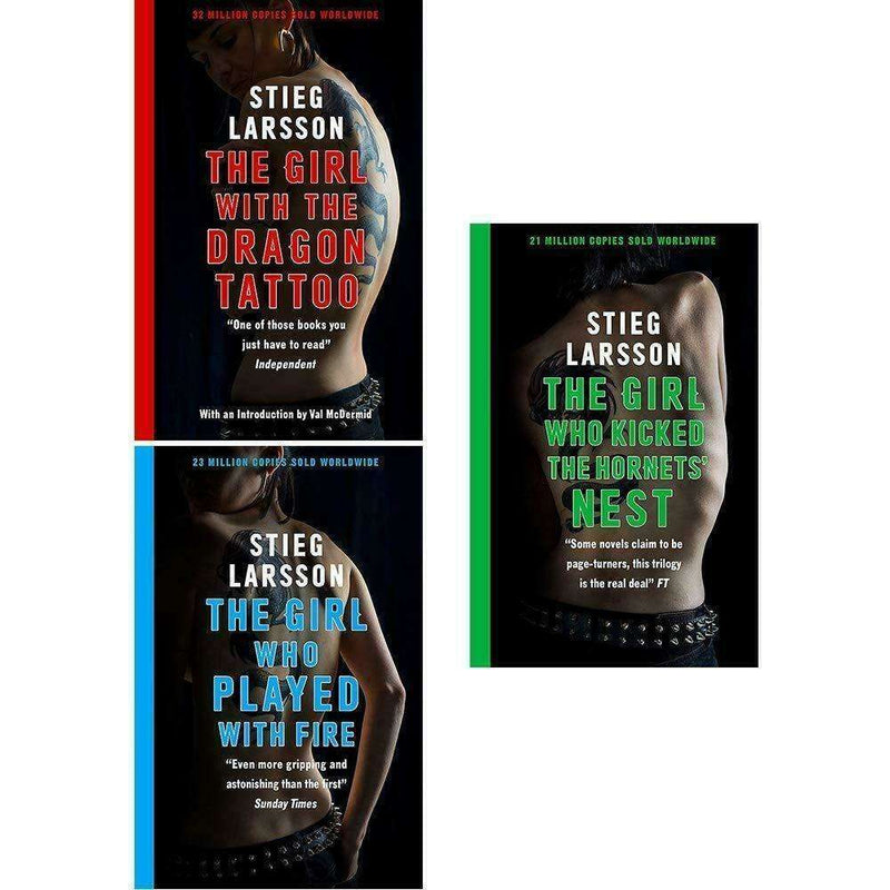 The Millennium Trilogy 3 Books Set Collection By Stieg Larsson