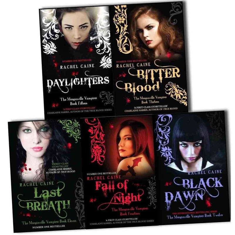 The Morganville Vampires Rachel Caine Series 3 (11 - 15) Collection 5 Books Set Daylighter