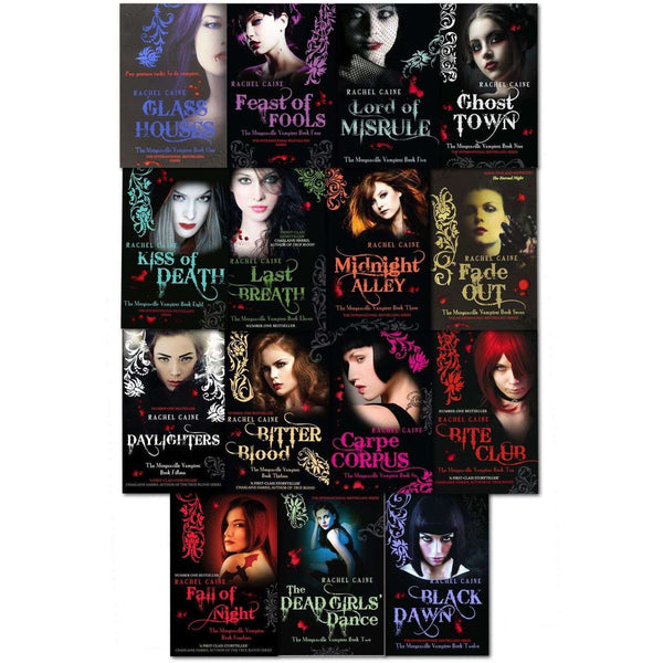 The Morganville Vampires Series 15 Books Set Collection Rachel Caine