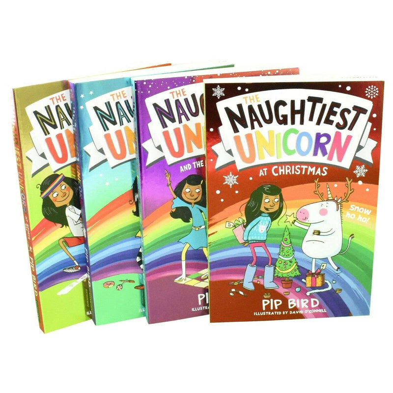 The Naughtiest Unicorn Series 4 Books Collection Set By Pip Bird - Paperback
