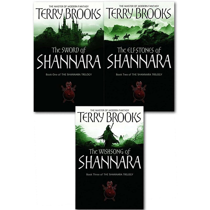 The Original Shannara Trilogy Series 5 Terry Brooks 3 Books Collection Set