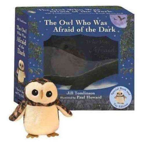 The Owl Who Was Afraid of the Dark Book and Plush Toy set by J. Tomlinson
