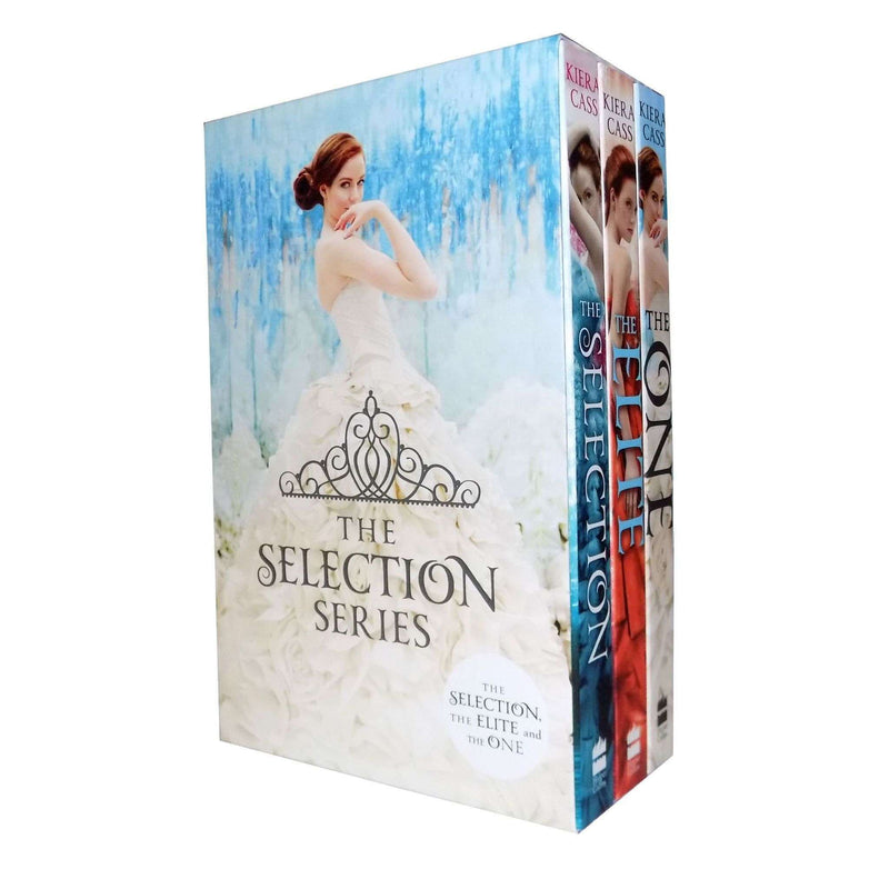 The Selection Series Collection Kiera Cass 3 Books Set The One, Elite,...etc