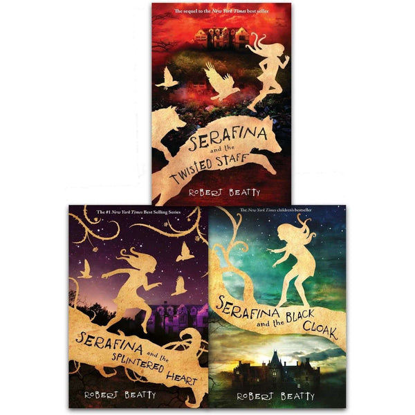 The Serafina Series Collection Robert Beatty 3 Books Set Pack The Twisted Staff