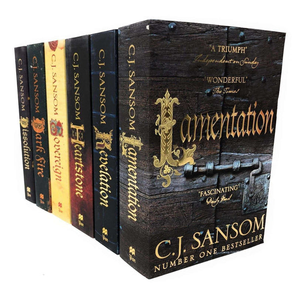 The Shardlake Series Collection 6 Books Set By C.J. Sansom, Dissolution Dark Fire