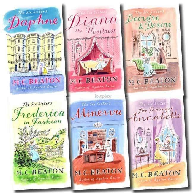 The Six Sisters Series Collection M C Beaton 6 Books Set