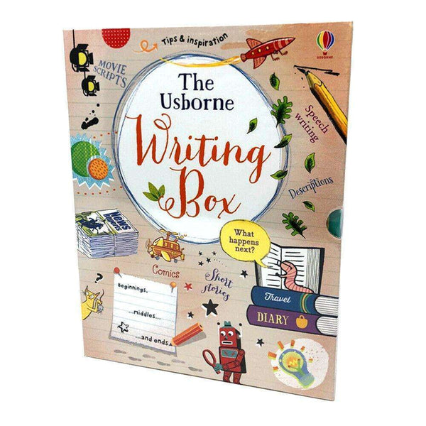 The Usborne Writing Box 3 Books Set Collection, Creative Writing, Journal