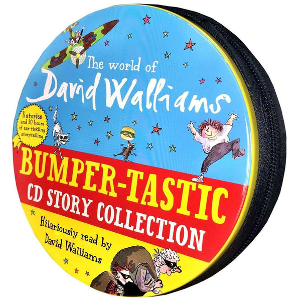 The World of David Walliams Story Collection Audio Books 27 CD Set Tin Pack