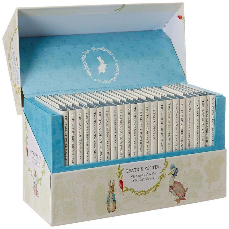 The World of Peter Rabbit Complete Collection Beatrix Potter 23 Books Box Set