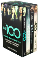 The 100 Series Kass Morgan 4 Books Set Collection