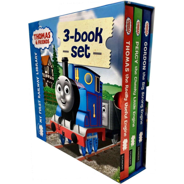 Thomas and Friends My First Railway Library Collection 3 Books Box Set Pack