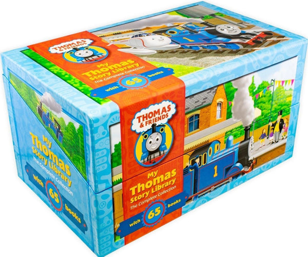 Thomas Tank & FriendsThe Complete Thomas Story Library Boxed 65 Books Set Collection