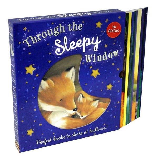 Through The Sleepy Window 10 Books Set Box Collection Inc Goodnight Tiger