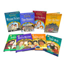 Oxford Reading Tree Read Biff Chip Kipper Time Chronicles 8 Book Collection Set
