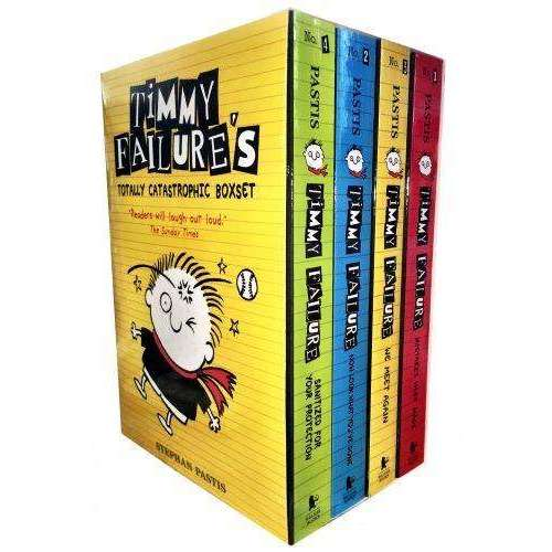 Timmy Failure Totally Catastrophic 4 Books Collection Box Set, We Meet Again