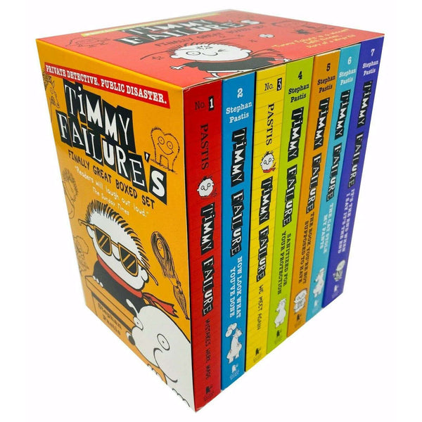 Timmy Failure's Finally Great Boxed Set 7 Books Collection Series (Volume 1-7)