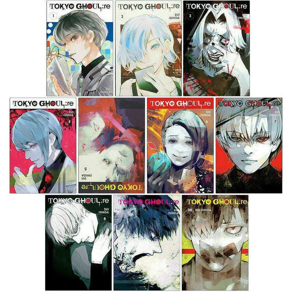 Tokyo Ghoul Revised Edition Volume 1-10 Collection 10 Books Set Pack Series