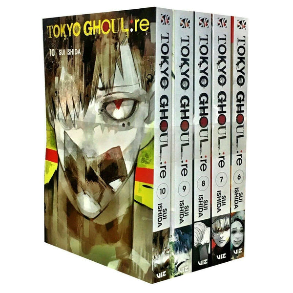 Tokyo Ghoul Revised Edition Volumes 6-10 Collection 5 Books Set Series 2 Pack