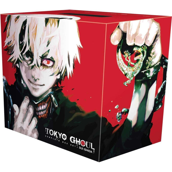 Tokyo Ghoul Volume 1-14 Collection 14 Books Box Set By Sui Ishida