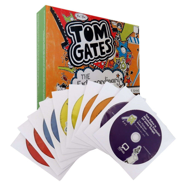 Tom Gates: The Extraordinary Audio Collection 10 CDs Including 5 Stories