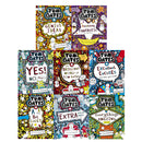 Tom Gates 8 Books Set Collection Liz Pichon Extra Special Treats,Tiny Bit Lucky