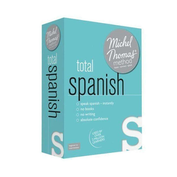 Total Spanish Learn Spanish with the Michel Thomas Method- Audio CD, Audiobook