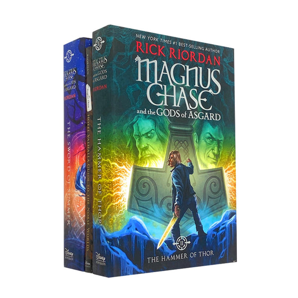 Rick Riordan Deluxe 3 Books Set Collection Magnus Chase Mythology Series