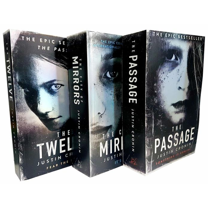 Passage Trilogy Series Collection By Justin Cronin 3 Books Set City of Mirrors