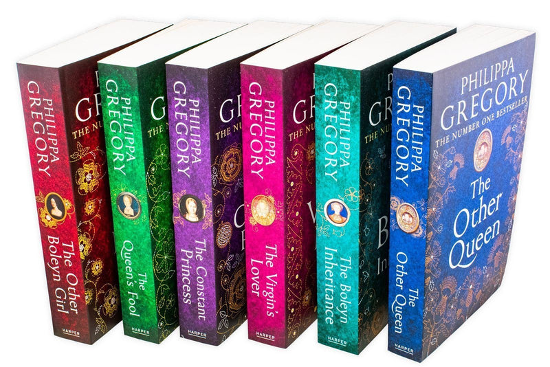 Philippa Gregory Tudor Court Novels 6 Books Set Collection Virgin's Lover