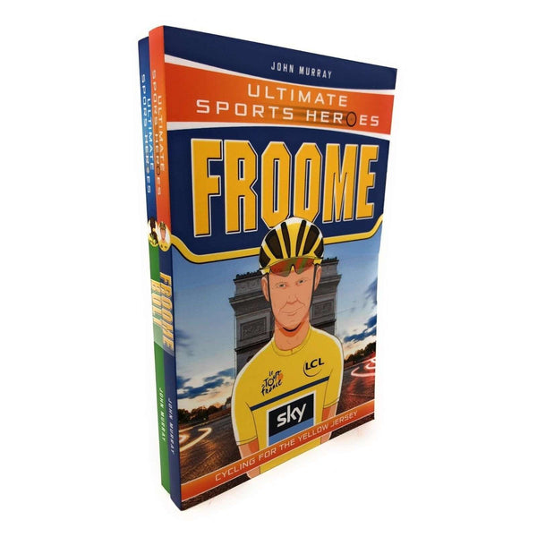 Ultimate Sports Heroes 2 Books Set John Murray - Froome, Bolt