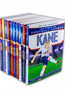 Ultimate Football Heroes 10 Books Set Collection Pack Messi, Neymar, Ronaldo